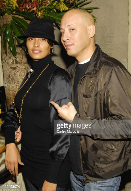 Shakara and Steve Kasuba during Sleepy Brown Performs and DJ Beverly Bond and DJ DNice Spin at Cain Bunny Chow Sessions at Cain in New York City New...