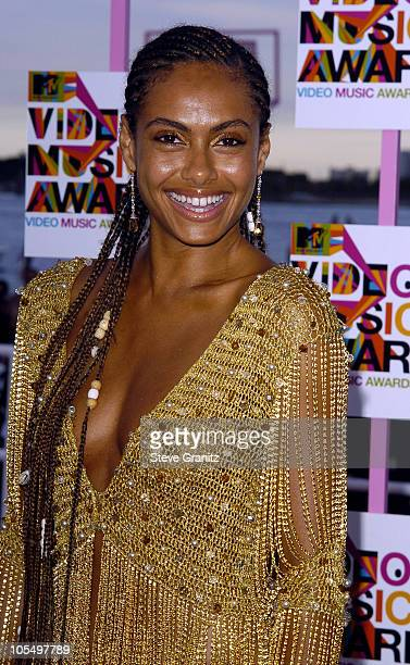 Shakara during 2004 MTV Video Music Awards Arrivals at American Airlines Arena in Miami Florida United States