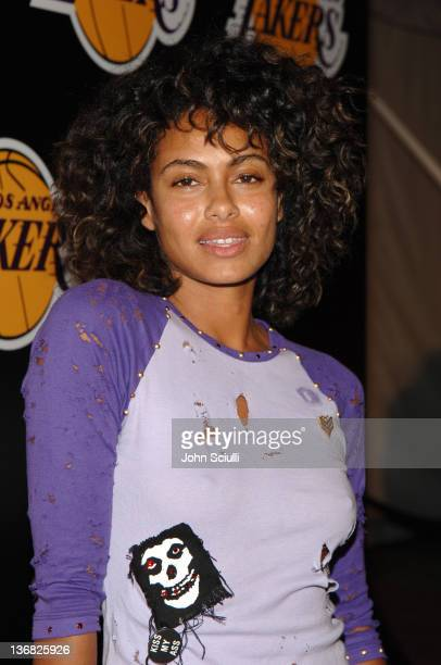 Shakara Ledard during 2nd Annual Lakers Casino Night Benefiting the Lakers Youth Foundation Red Carpet and Inside at Barker Hanger in Santa Monica...