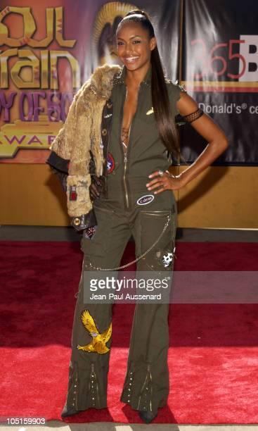 Shakara Ledard during 9th Annual Soul Train Lady of Soul Awards Arrivals at Pasadena Civic Center in Pasadena California United States