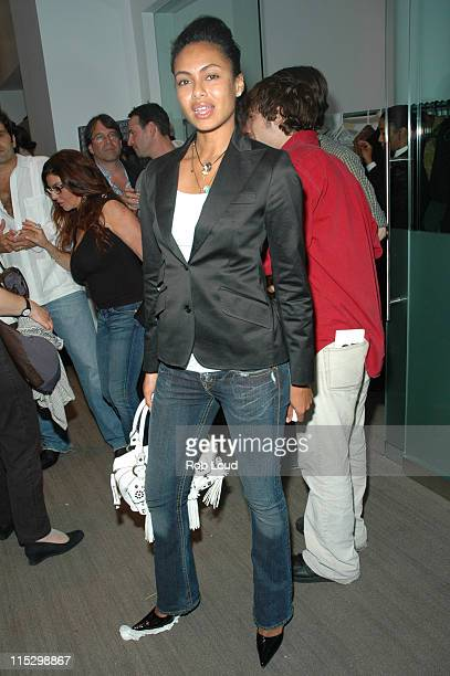 Shakara Ledard during Gary Barnett of Extell Development Company and Russell Simmons Present the Premiere of Photography by Brett Ratner at Altair...