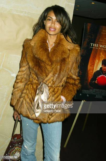 Shakara Ledard during 'The Woodsman' New York Cit y Premiere Inside Arrivals at The Skirball Center in New York City New York United States