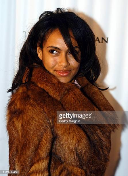 Shakara Ledard during 'The Woodsman' New York City Premiere at The Skirball Center in New York City New York United States