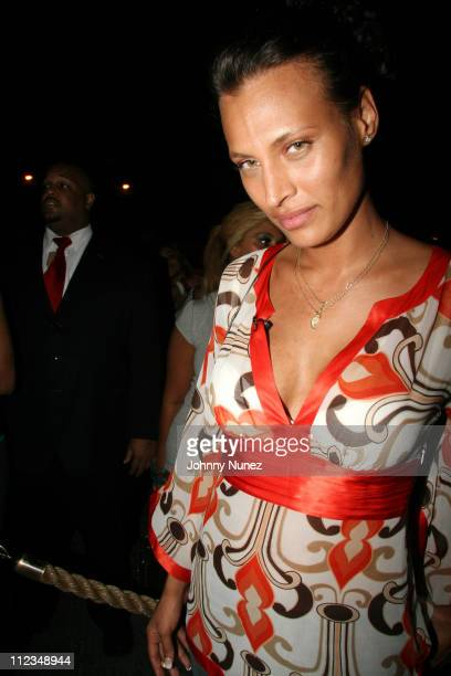 Shakara of Bunny Chow's during Celebrity Sightings at Bunny Chow's June 13 2006 at Cane in New York City New York United States