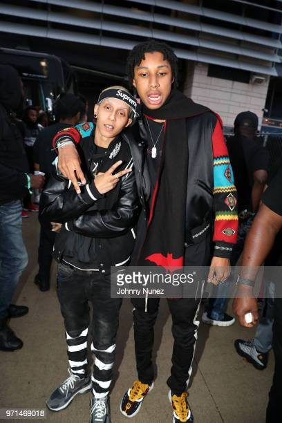 Shake and Prince Nasir Dean attend Summer Jam 2018 at MetLife Stadium on June 10 2018 in East Rutherford New Jersey