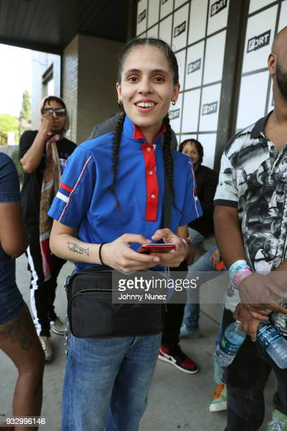 Shake attends The Fader Fort 2018 Day 3 on March 16 2018 in Austin Texas