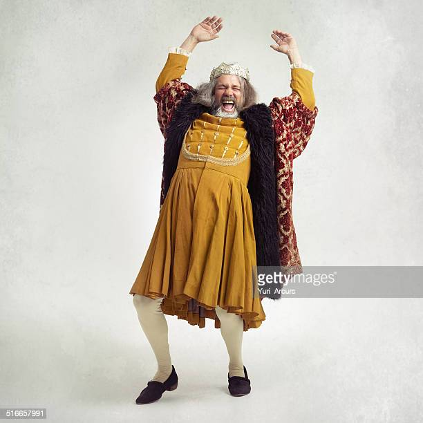 shake like you're royalty - koningschap stockfoto's en -beelden