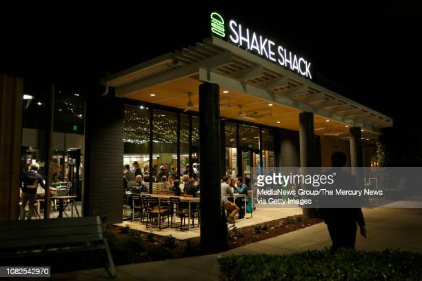 Shake Shack at the Stanford Shopping Center in Palo Alto, Calif., on Wednesday, Dec. 12, 2018. This is the first Shake Shack in the Bay Area.