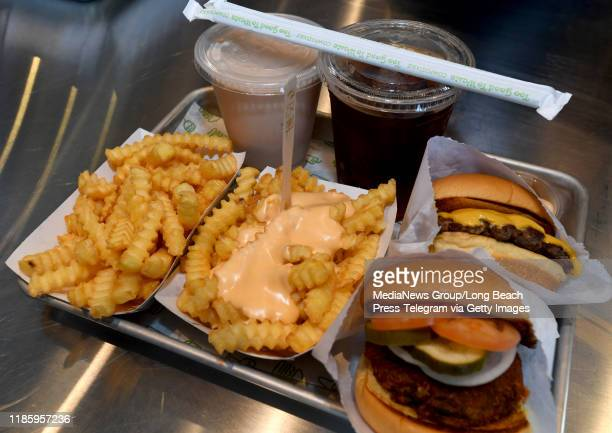 Shake Shack held family and friends preview of its new restaurant in the 2nd & PCH shopping center in Long Beach on Wednesday, November 6, 2019.
