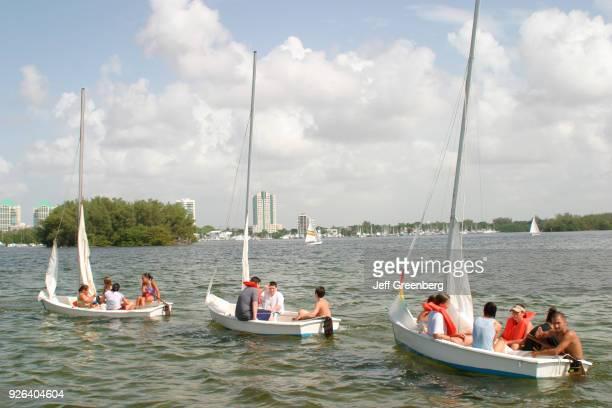Shake-A-Leg Program student mentors sailing.