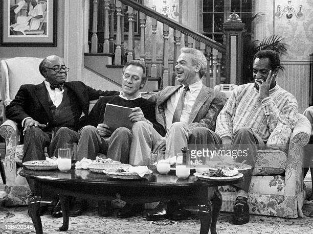 "Shakespeare"" Air date -- Pictured: Roscoe Lee Browne as Dr. Barnabus Foster, Christopher Plummer as Jonathan Lawrence, Earle Hyman as Russell..."