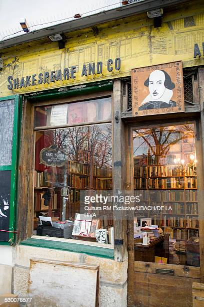 Shakespeare and Co, old antique book shop, Paris, France