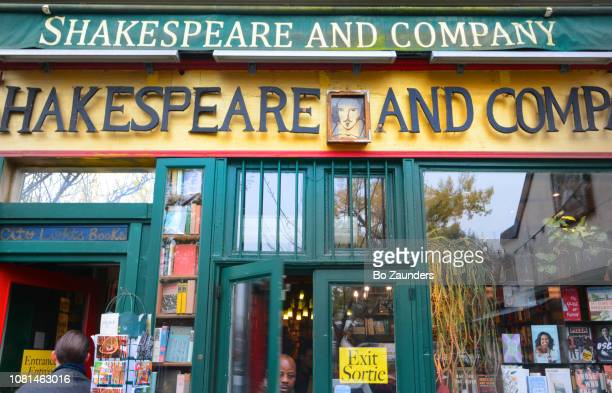 Shakespeare and Company, the legendary and, arguably, the the most famous, independant bookstore in the world, in Paris, France.