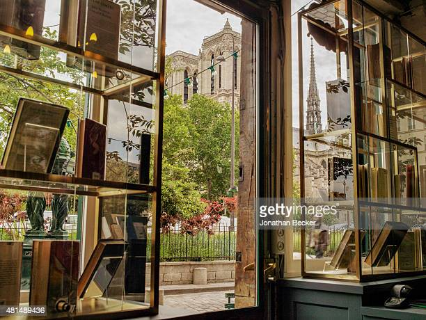 Shakespeare Company Bookstore is photographed for Vanity Fair Magazine on May 20 2014 in Paris France The recently remodeled rarebook room at the...