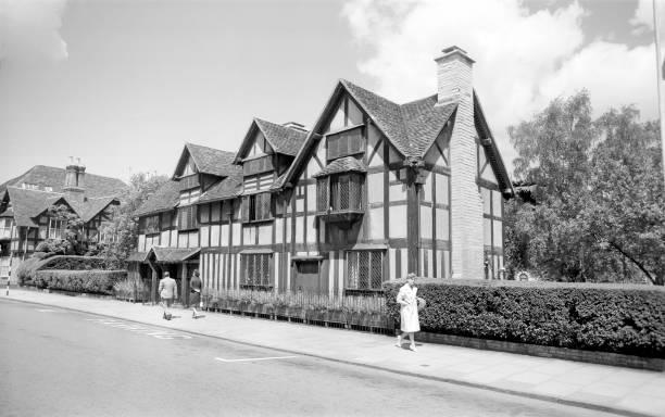 Shakespeares Birthplace Henley Street Stratford Upon Avon Warwickshire 1945