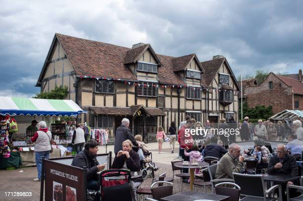 Shakespeare's birthplace in Stratford-upon-Avon, England