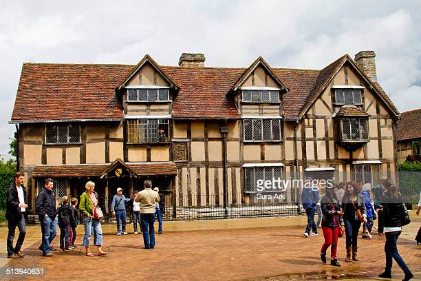 Shakespeare's Birthplace in Stratforduponavon Warwickshire England UK taken on 8/10/2014