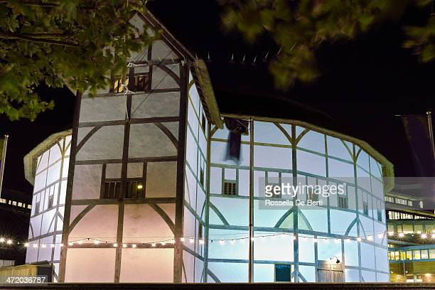 Shakespeare's Globe Theatre By Night - London