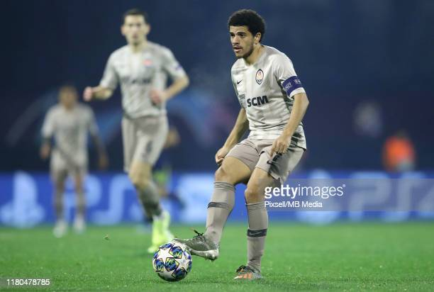 Shakhtar Donetsk's Taison during the UEFA Champions League group C match between Dinamo Zagreb and Shakhtar Donetsk at Maksimir Stadium on November 6...