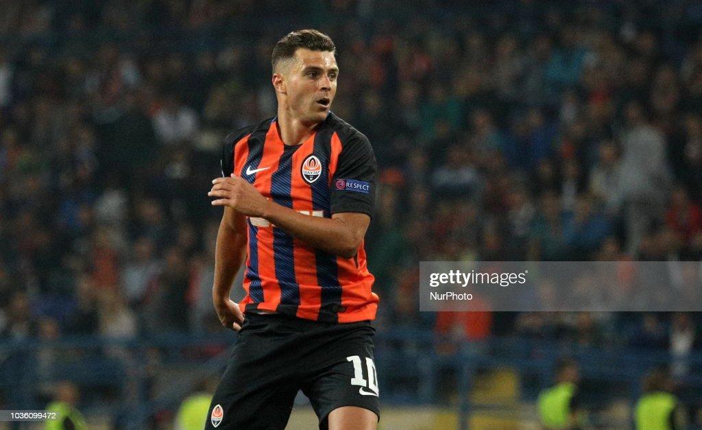 Shakhtar Donetsk v Hoffenheim - UEFA Champions League : News Photo