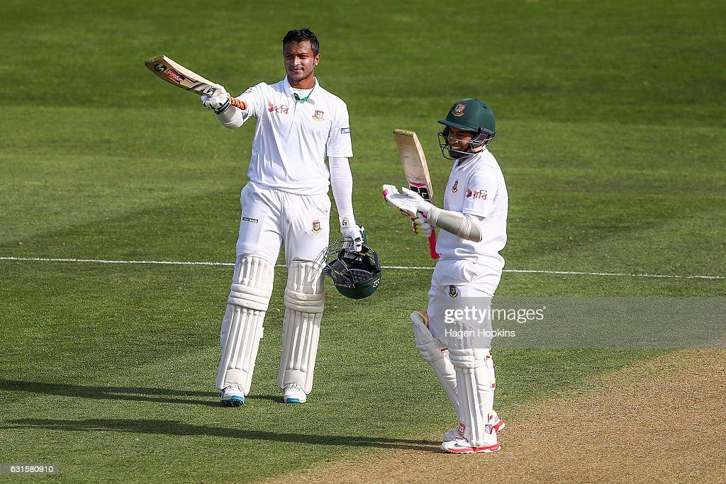New Zealand v Bangladesh - 1st Test: Day 2 : News Photo