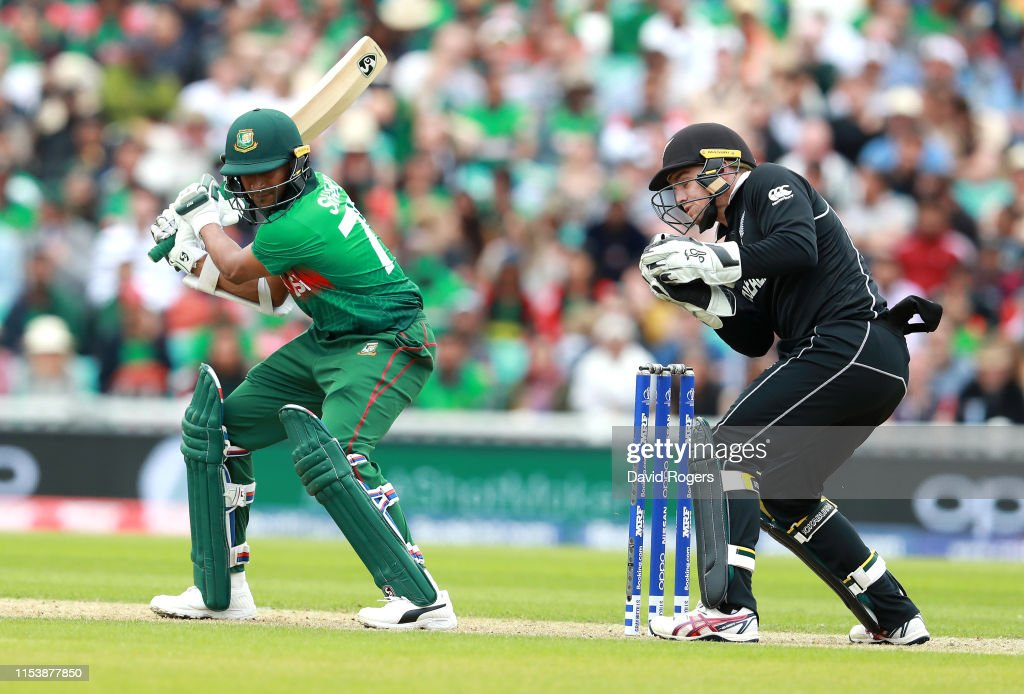 Bangladesh v New Zealand - ICC Cricket World Cup 2019 : News Photo