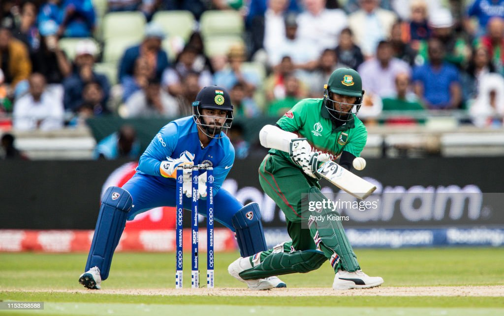 Bangladesh v India - ICC Cricket World Cup 2019 : News Photo