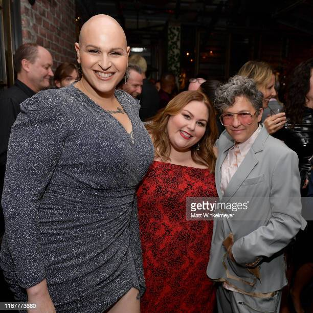 Shakina Nayfack Chrissy Metz and Jill Soloway attend the Hollywood Foreign Press Association and The Hollywood Reporter Celebration of the 2020...
