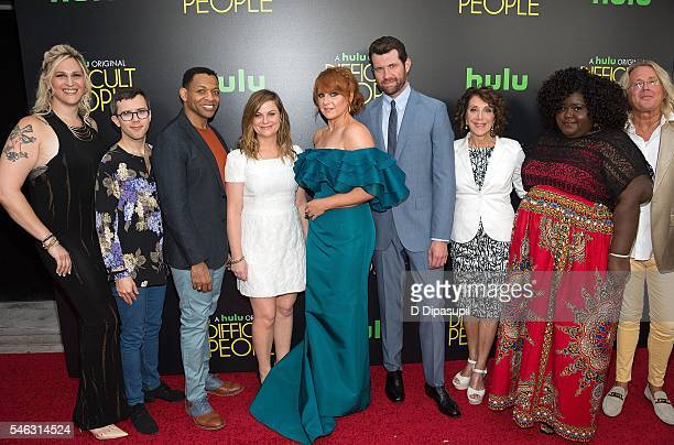 Shakina Nayfack Cole Escola Derrick Baskin Amy Poehler Julie Klausner Billy Eichner Andrea Martin Gabourey Sidibe and Scott King attend the...
