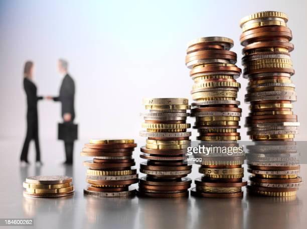 Shaking Hands over Money
