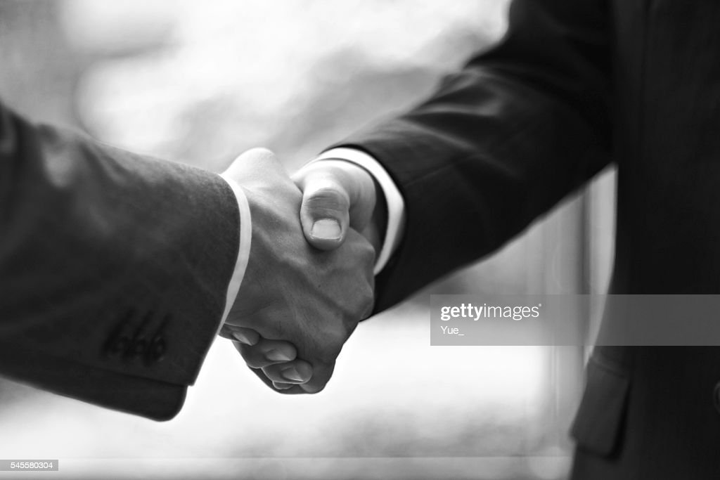 Unity shaking hands
