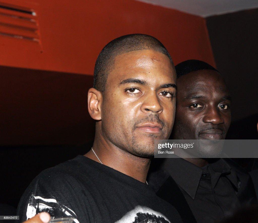 Shakir Stewart and Akon
