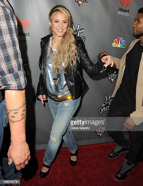 Shakira arrives at the NBC's The Voice Season 4 Premiere at House of Blues Sunset Strip on May 8 2013 in West Hollywood California