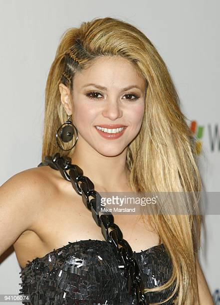 Shakira attends the Capital FM Jingle Bell Ball Day 2 at 02 Arena on December 6 2009 in London England