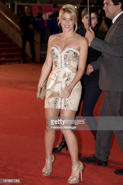 Shakira attends the NRJ Music Awards 2012 at Palais des Festivals on January 28 2012 in Cannes France