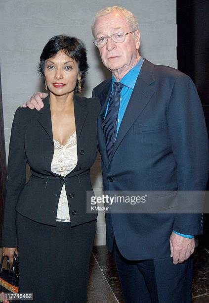 Shakira Caine and Sir Michael Caine during Central Park Conservancy hosts 150th Anniversary of the Park at Mandarin Oriental Hotel in New York City,...