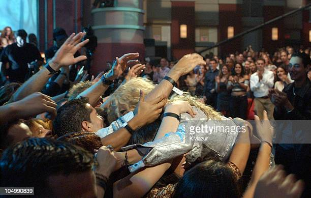 Shakira during MTV Music Video Awards Latinoamerica 2002 Show at Jackie Gleason Theater Miami in Miami Florida United States