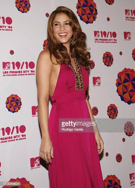 Shakira during MTV Video Music Awards Latin America 2006 - Red Carpet at Palacio de los Deportes in Mexico City, Mexico.