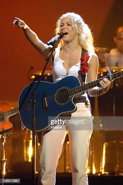 Shakira during MTV Video Music Awards Latinoamerica 2002 Rehearsals Day 2 at Jackie Gleason Theater in Miami Florida United States
