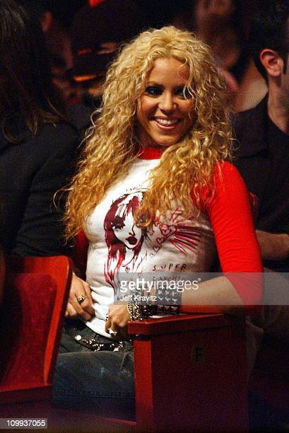 Shakira during MTV Video Music Awards Latinoamerica 2002 Show at Jackie Gleason Theater in Miami FL United States