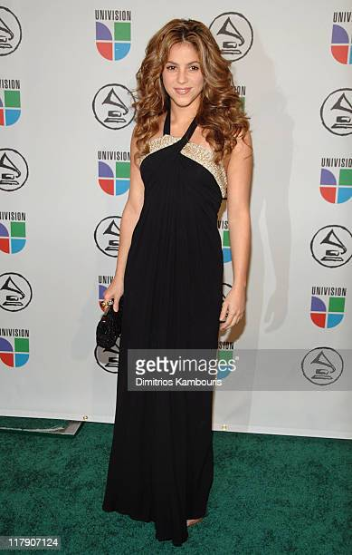 Shakira during The 7th Annual Latin GRAMMY Awards Arrivals at Madison Square Garden in New York New York United States