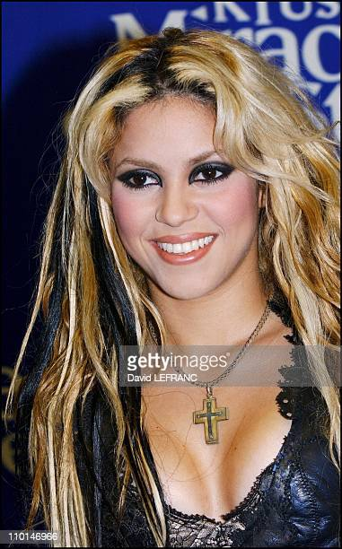 """Shakira - In New York City, the radio WKTU hosted its fourth annual """"KTU Miracle on 34th street"""" holiday concert at Madison Square Garden to a sold..."""