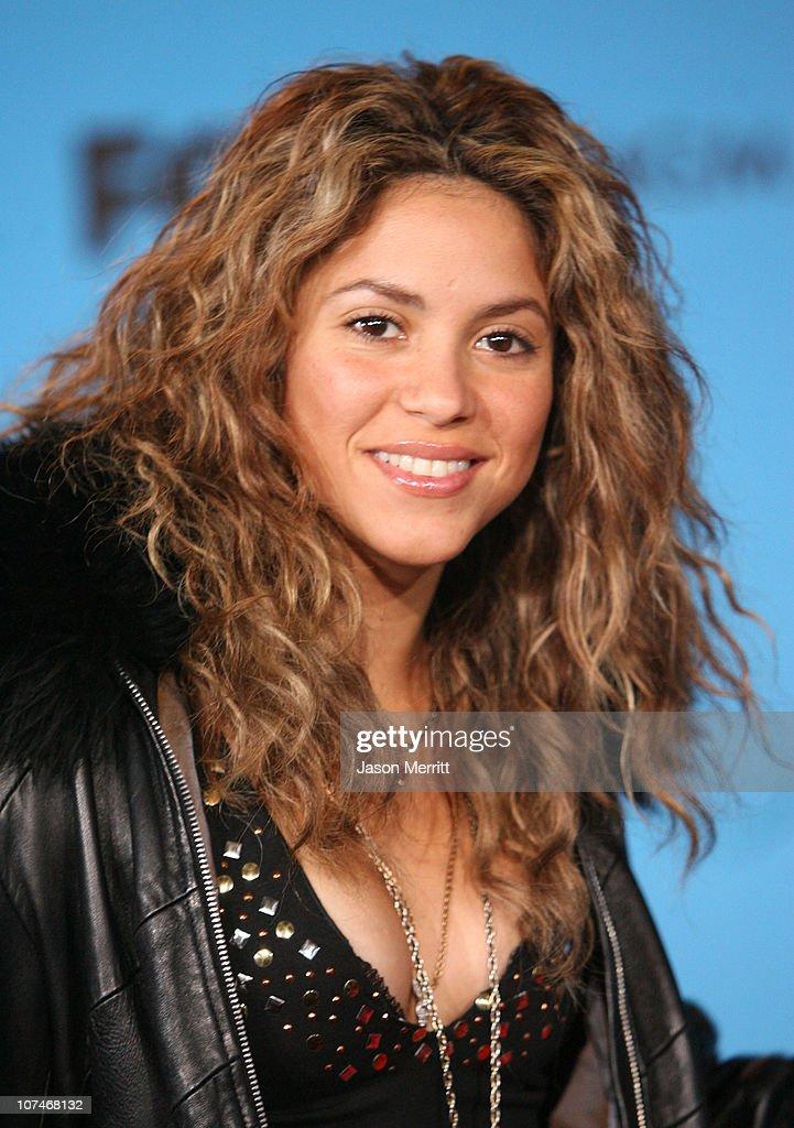 Shakira, nominee for Latin Pop Album of the Year and Latin Pop Album Artist of the Year