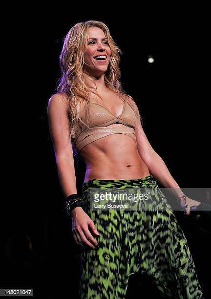 Shakira performs at Madison Square Garden on September 21 2010 in New York New York