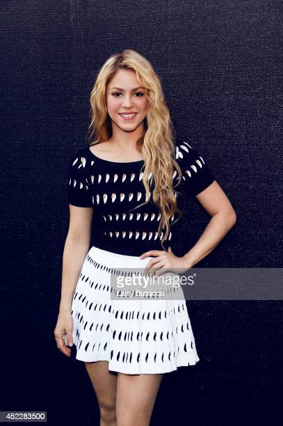 Shakira poses for a portrait at the iHeartRadio Music Awards on May 1 2014 in Los Angeles California