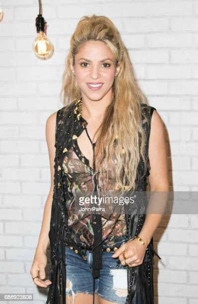 Shakira visits SBS Studio to promote her latest album El Dorado at SBS Studios on May 26 2017 in Miami Florida