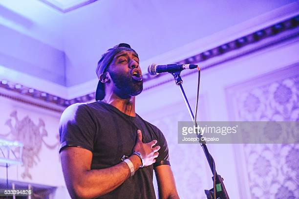 Shakka performs on Day 3 of The Great Escape Festival on May 21 2016 in Brighton England