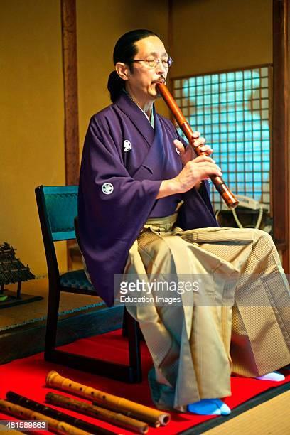 Shakuhachi flute performance by Murata Shouzan