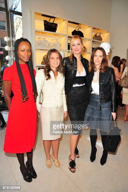 Shala Monroque Danielle Ganek Christine Mack and Samantha Boardman Rosen attend VALENTINO Spring/ Summer 2010 Collection Private Luncheon and...