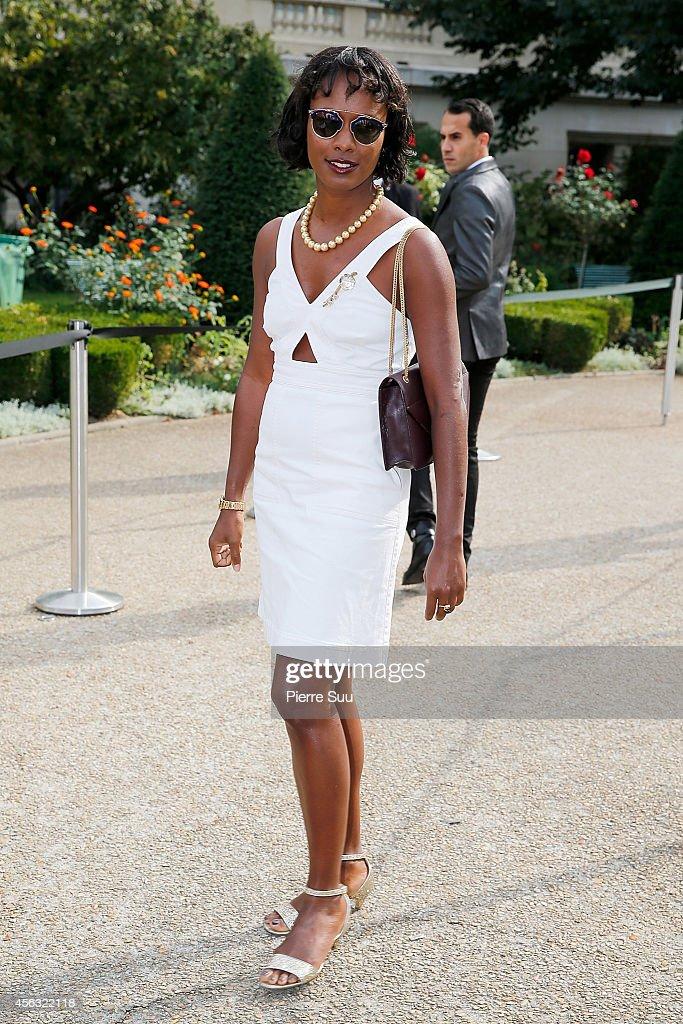 Giambattista Valli  : Outside Arrivals - Paris Fashion Week Womenswear Spring/Summer 2015